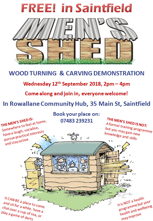 Free Wood Turning & Carving Demonstration